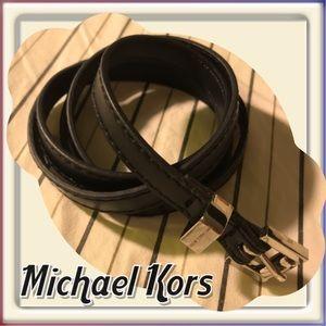 Michael Kors skinny belt